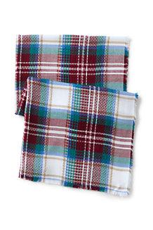 Maxi-Écharpe à Motifs Écossais, Femme