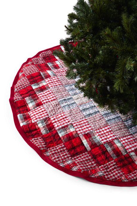 Patchwork Christmas Tree Skirt