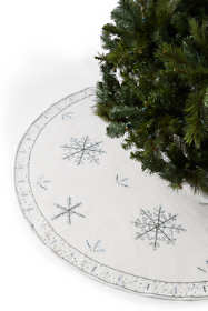 Embellished Christmas Tree Skirt