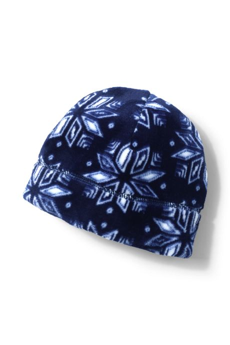 Women's Softest Fleece Beanie Hat - Print