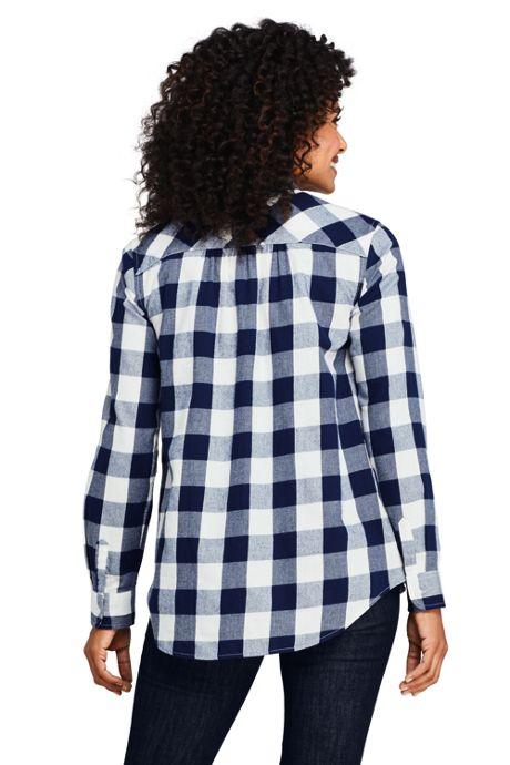 Women's Popover Flannel Shirt
