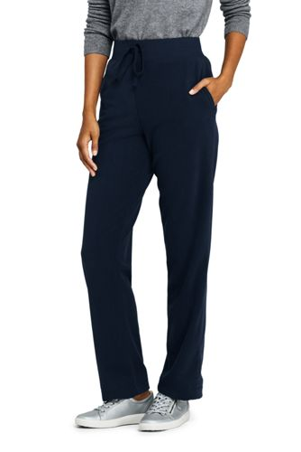 Women's Elastic Waist Fleece Sweatpants
