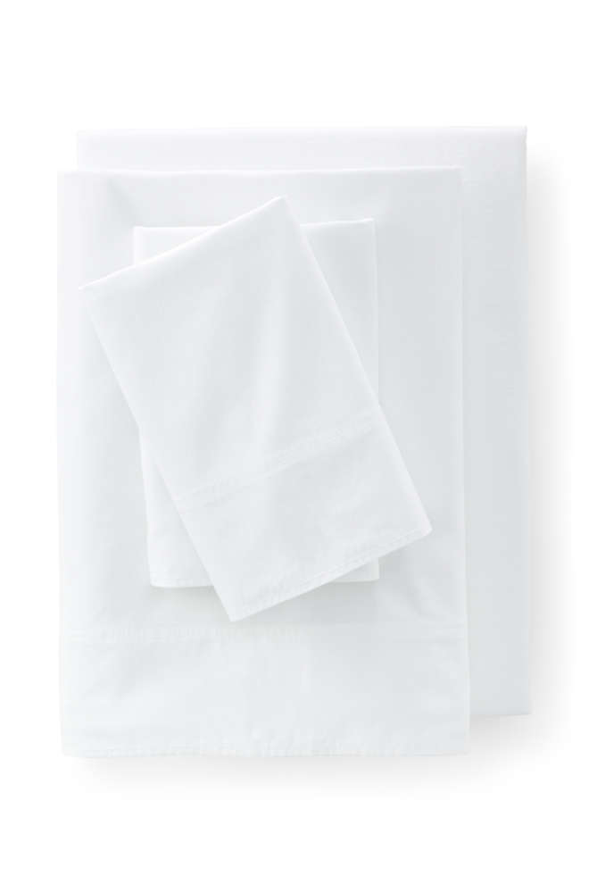 Oxford Solid Pillowcases, Front