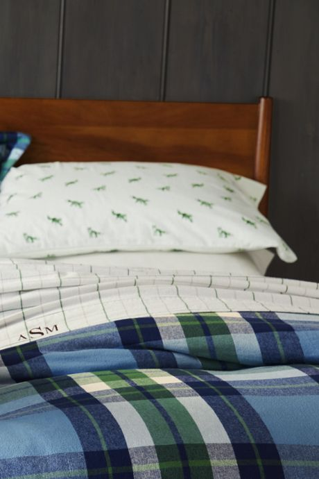 5 oz Velvet Tattersall Flannel Pillowcases