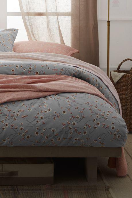 6 oz Supima Flannel Printed Duvet Cover