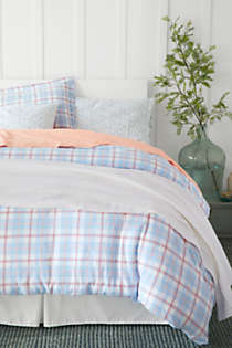 5oz Velvet Flannel Plaid Duvet Cover, Unknown