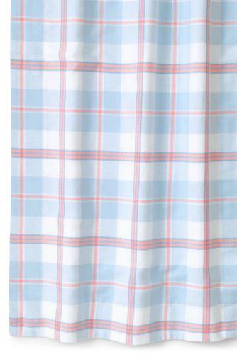 5oz Velvet Flannel Plaid Duvet Cover