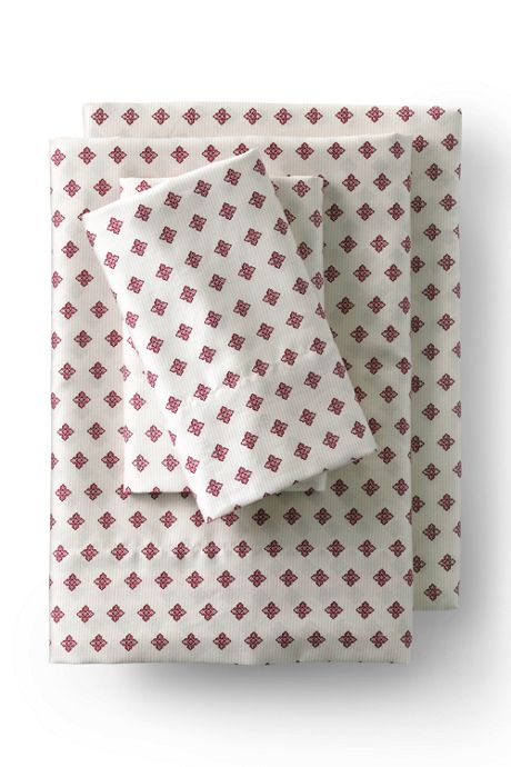 Supima Cotton No Iron Sateen Printed Pillowcases - 400 Thread Count