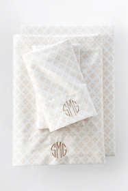 Supima Cotton No Iron Sateen Printed Sheets - 400 Thread Count