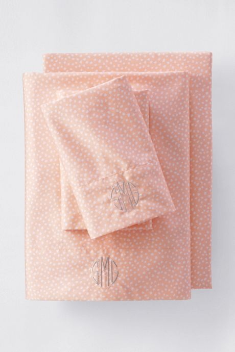 Supima Cotton No Iron Sateen Printed Pillowcases - 400 Thread Count