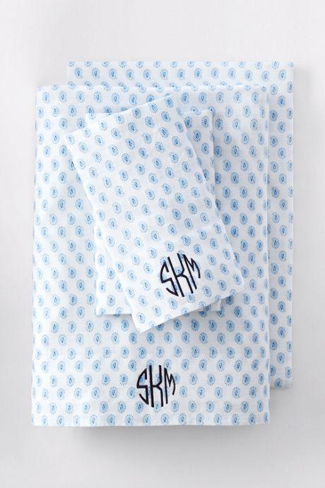 Linen Printed Shams