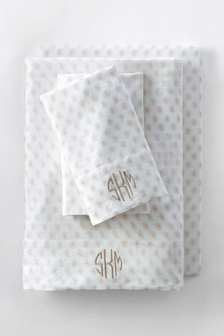 Linen Printed Pillowcases