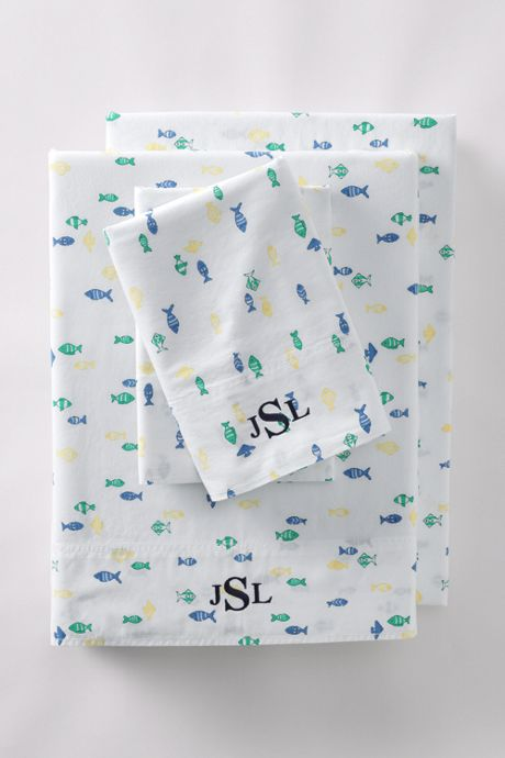 Oxford Printed Pillowcases