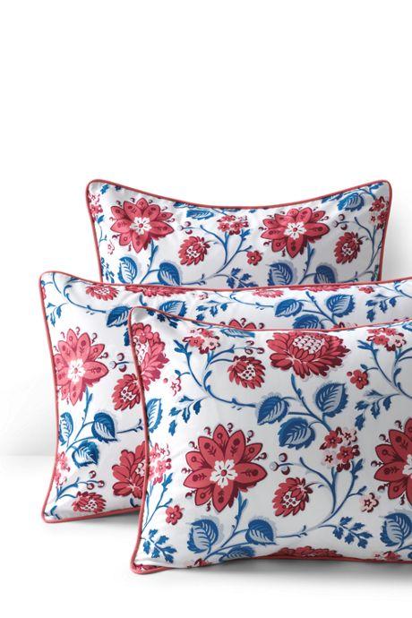 Supima Cotton No Iron Sateen Print Sham - 400 Thread Count