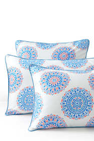 Supima Cotton No Iron Sateen Print Sham - 400 Thread Count
