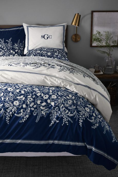 Easy Care Percale Printed Duvet Cover