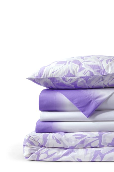 Easy Care Percale Printed Duvet Cover - 200 Thread Count