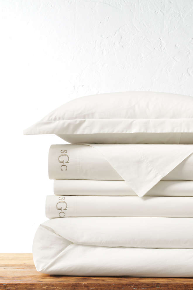 200 Easy Care Percale Solid Duvet Cover, Front