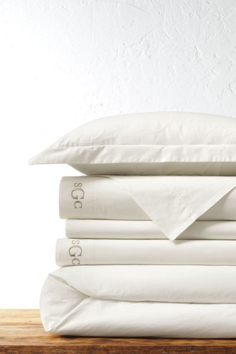 200 Easy Care Percale Solid Duvet Cover