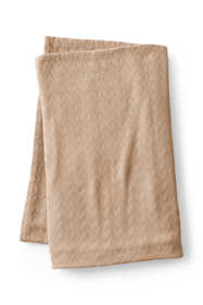 Chevron Cotton Solid Blanket
