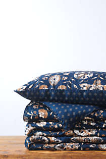 No Iron Supima Sateen Printed Comforter, Front