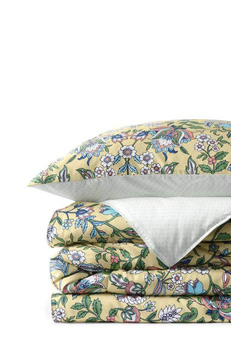 No Iron Supima Sateen Printed Comforter