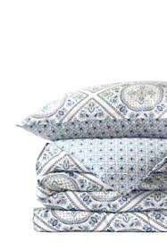 No Iron Supima Sateen Printed Comforter