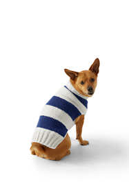 Rugby Stripe Dog Sweater