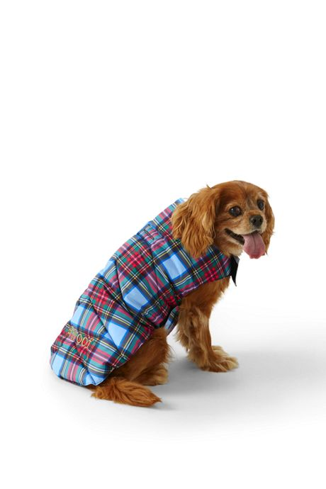 Printed Dog Coat Puffer Vest