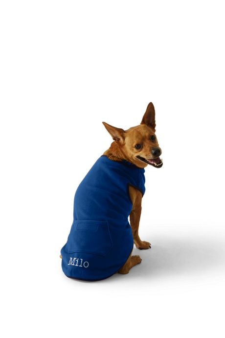 Fleece Dog Sweatshirt