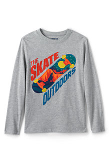 Boys' Applique Graphic T-Shirt