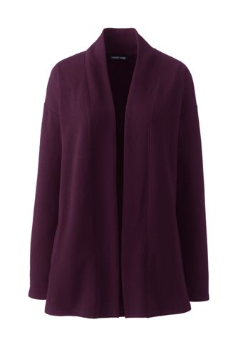 Women's Open Front Long Cardigan