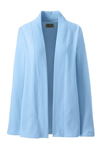 Women's Serious Sweats Open Front Long Cardigan