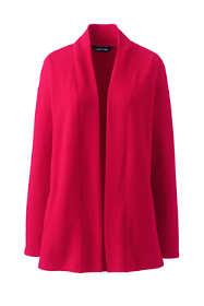 Women's Plus Size Serious Sweats Open Front Long Cardigan