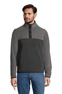 T200 Fleece-Pullover mit Druckknopfleiste für Herren