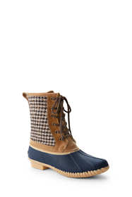 School Uniform Women's Sherpa Lined Duck Boots