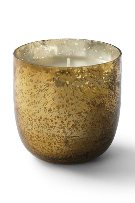 Luxe Sanded Mercury Glass Candle