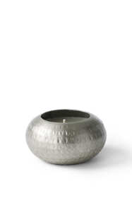 Textured Metal Candle