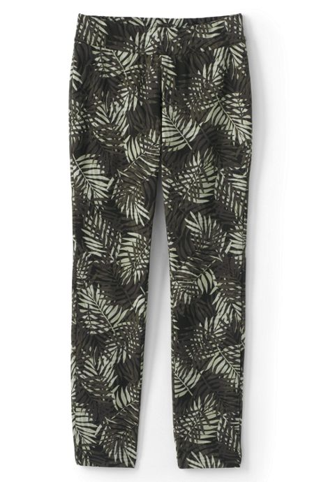 Women's Petite Starfish Mid Rise Slim Leg Pants