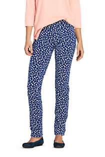 Women's Starfish Mid Rise Slim Leg Pants, Front