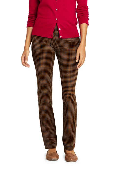 Women's Mid Rise Starfish Slim Leg Pants Pattern