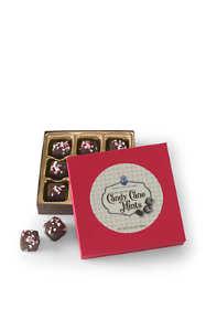 Dark Chocolate Candy Cane Mints