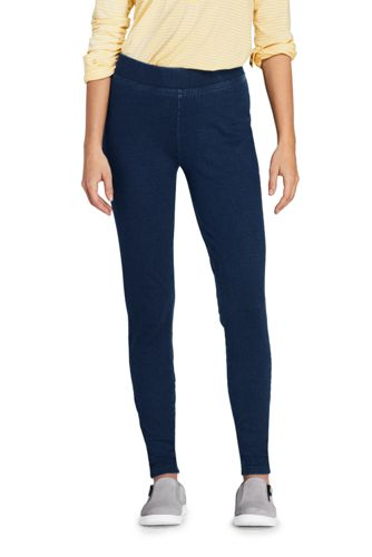 hot-selling genuine for whole family best website Women's Stretch Knit Cord Leggings | Lands' End