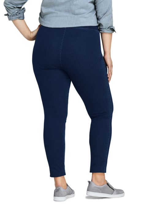 Women's Plus Size Starfish Knit Jean Leggings