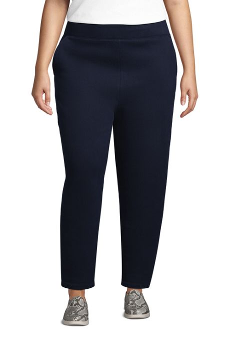Women's Plus Size Serious Sweats Ankle Length Sweatpants