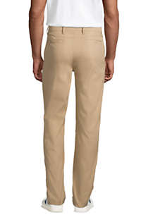 Men's Traditional Fit Performance Chino Pants, Back