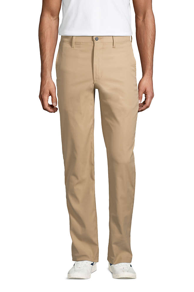 Men's Traditional Fit Performance Chino Pants, Front