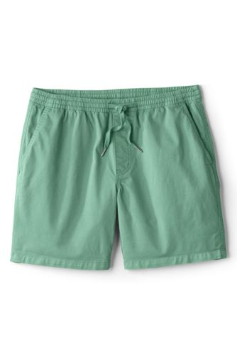Men's Chino Shorts with Elastic Waist