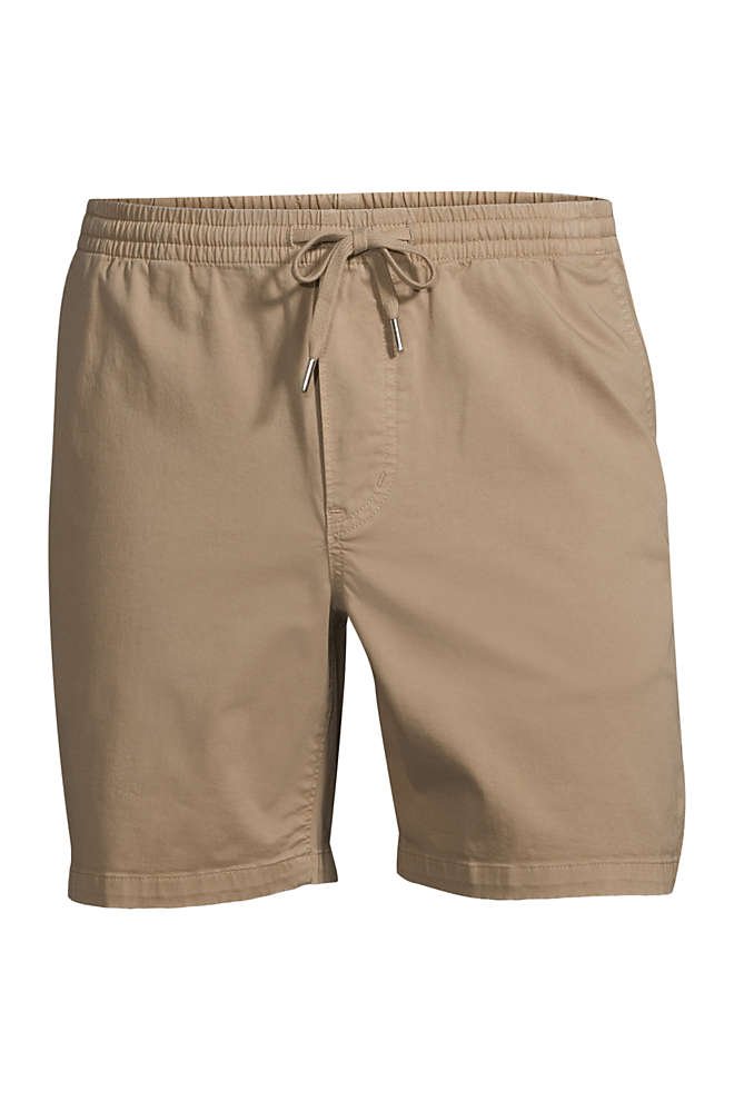 "Men's Big 7 "" Comfort-First Knockabout Deck Shorts, Front"