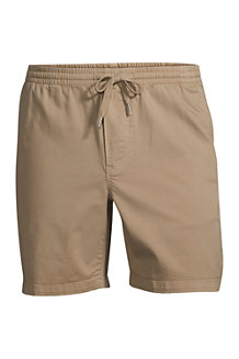 Short Chino Stretch Taille Elastiquée, Homme